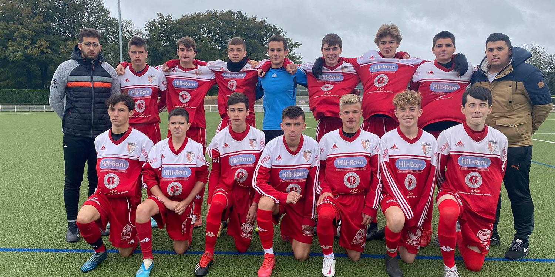 Catégorie U18, école de foot pôle jeune masculin Pluvigner